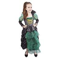 Čarodějnice zelená s kloboukem vel. M