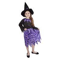 Čarodějnice fialová vel. S - Dětský kostým