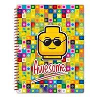 LEGO Iconic Spirálový Sešit - Awesome - Poznámkový blok