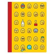 LEGO Iconic Sešit žlutý - Poznámkový blok