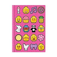 LEGO Iconic Deník - růžový - Zápisník