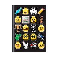 LEGO Iconic Deník - černý - Zápisník