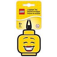 LEGO Iconic Jmenovka na zavazadlo - Hlava dívky - Jmenovky na zavazadlo