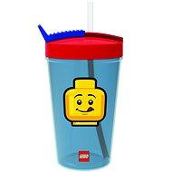 LEGO Iconic Classic červeno-modrá - Láhev na pití