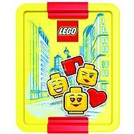 LEGO Iconic Girl červeno-žlutá - Svačinový box