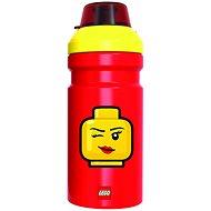 LEGO Iconic Girl žluto-červená - Láhev na pití