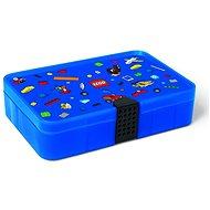 LEGO Iconic Krabička s přihrádkami - modrá - Úložný box