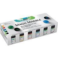 Kreul Mramorovací barva Magic Marble základní - Kreativní sada