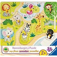 Ravensburger 036875 Zoo zvířata  - Puzzle