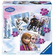 Ravensburger 072767 Disney Ledové království Anna Elsa a jejich přátelé  - Puzzle