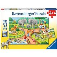 Ravensburger 78134 Den v zoo  - Puzzle