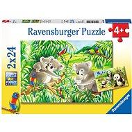 Ravensburger 78202 Sladké koaly a pandy  - Puzzle