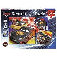 Ravensburger 80014 Disney Auta Dobrodružství na silinici  - Puzzle