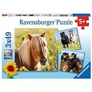 Ravensburger 80113 Sladcí koně  - Puzzle