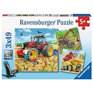 Ravensburger 80120 Agricultural Machinery - Puzzle