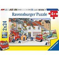 Ravensburger 88515 U požárníků  - Puzzle