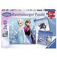 Ravensburger 92642 Disney Ledové království: dobrodružství na sněhu  - Puzzle