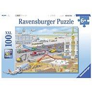 Ravensburger 106240 Stavba na letišti 100 dílků - Puzzle