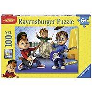Ravensburger 107124 Alvin, Simon,Theodore  - Puzzle