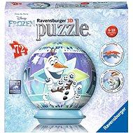 Ravensburger 3D 117642 Disney Ledové království Olafovo dobrodružství  - 3D puzzle