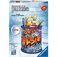 Ravensburger 3D 121090 Stojan na tužky Graffiti - 3D puzzle