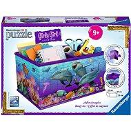 Ravensburger 3D 121151 Úložná krabice Podvodní svět  - 3D puzzle