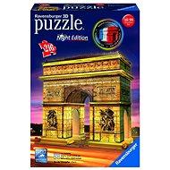 Ravensburger 3D 125227 Vítězný oblouk (Noční edice) - 3D puzzle