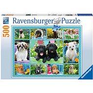 Ravensburger 147083 Roztomilá štěňata  - Puzzle