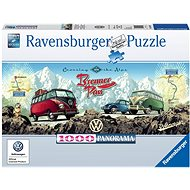 Ravensburger 151028 Přes Alpy s VW  - Puzzle