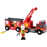 Brio World 33811 Záchranný hasičský vůz - Stavebnice