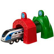 Brio World 33834 Smart Tech Engine with Active Tunnel - Building Kit
