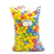 Dolu Barevné plastové míčky - 500 ks - Míčky
