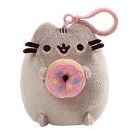 Pusheen clip donut - Klíčenka
