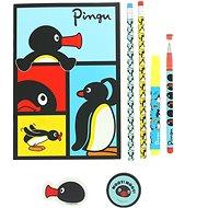 Pingu Super Poznámkový Set - Kreativní sada