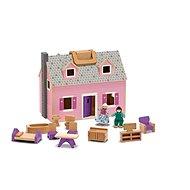 Přenosný domeček s držákem - Herní set