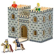 Přenosný skládací hrad - Herní set