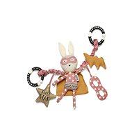 Závěsný králíček s hvězdou Superhero Pop - Hračka na kočárek