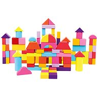 Bino Blocks in Bucket 100 pcs - Wooden Blocks
