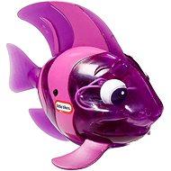 Svítící rybka - fialová - Hračka do vody