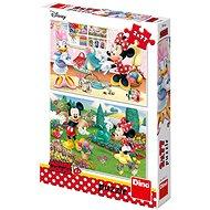 Pracovitá Minnie   - Puzzle