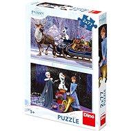 Frozen: Vánoce  - Puzzle