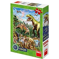 World of Dinosaurs - Neon - Puzzle