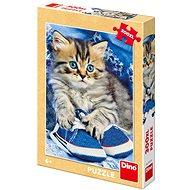 Kotě v modré botě