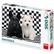 Černobílí psi - Puzzle