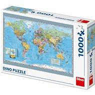 Puzzle Politická mapa světa - Puzzle