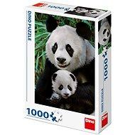 Pandí rodina - Puzzle