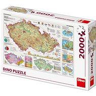 Mapy České republiky  - Puzzle