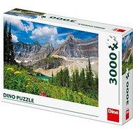 Ledovce v Montaně   - Puzzle
