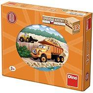 Dine Tatra Truck in 12 Cubes - Picture Blocks