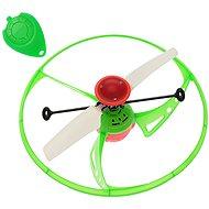 Létající UFO - zelené - Vrtulník